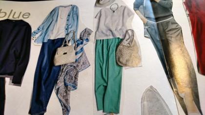 ブルーベースの服